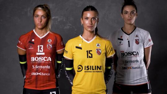 Isiline sponsor ufficiale Cuneo Granda Volley